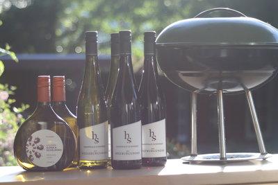 BBQ pakket Duitse wijn